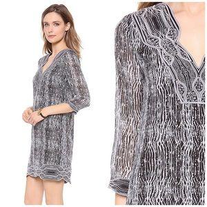 ce1cfd84ba4 Diane Von Furstenberg Dresses - Diane Von Furstenberg Lexie 3/4 Sleeve Silk  Tunic